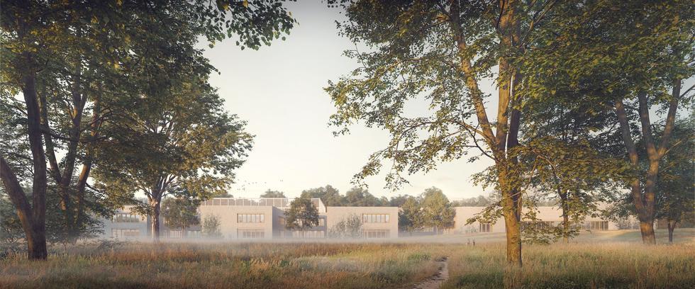 Wyniki konkursu na projekt szkoły przy ul. Świderskiej w Warszawie
