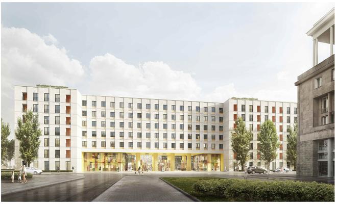 Osiedle Mieszkanie Plus Ratuszowa w technologii BIM