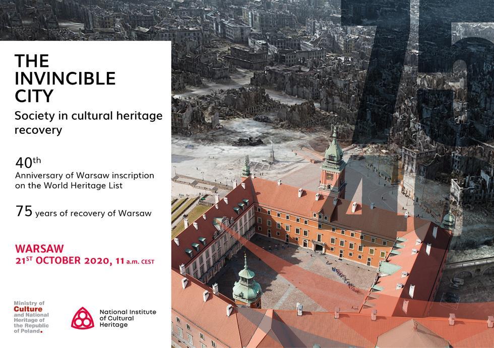The invincible city: międzynarodowa konferencja z udziałem ekspertów UNESCO, ICOMOS i ICCROM