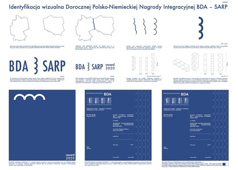 Nagroda Integracyjna BDA – SARP: wyniki konkursu na identyfikacje wizualną