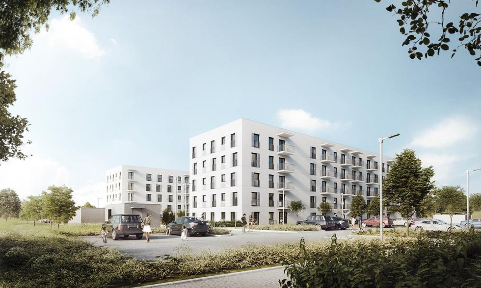 Mieszkanie Plus w Nakle nad Notecią: nowe osiedle Mieszkanie Plus projektu Atelier Tektura