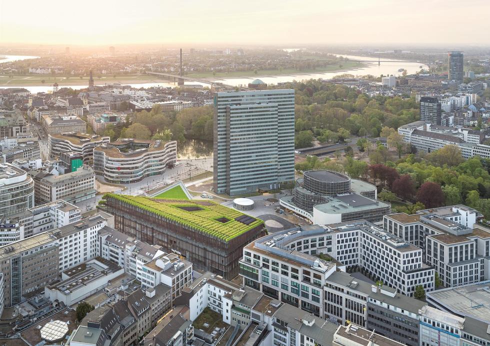 Biurowiec Kö-Bogen II / Düsseldorf