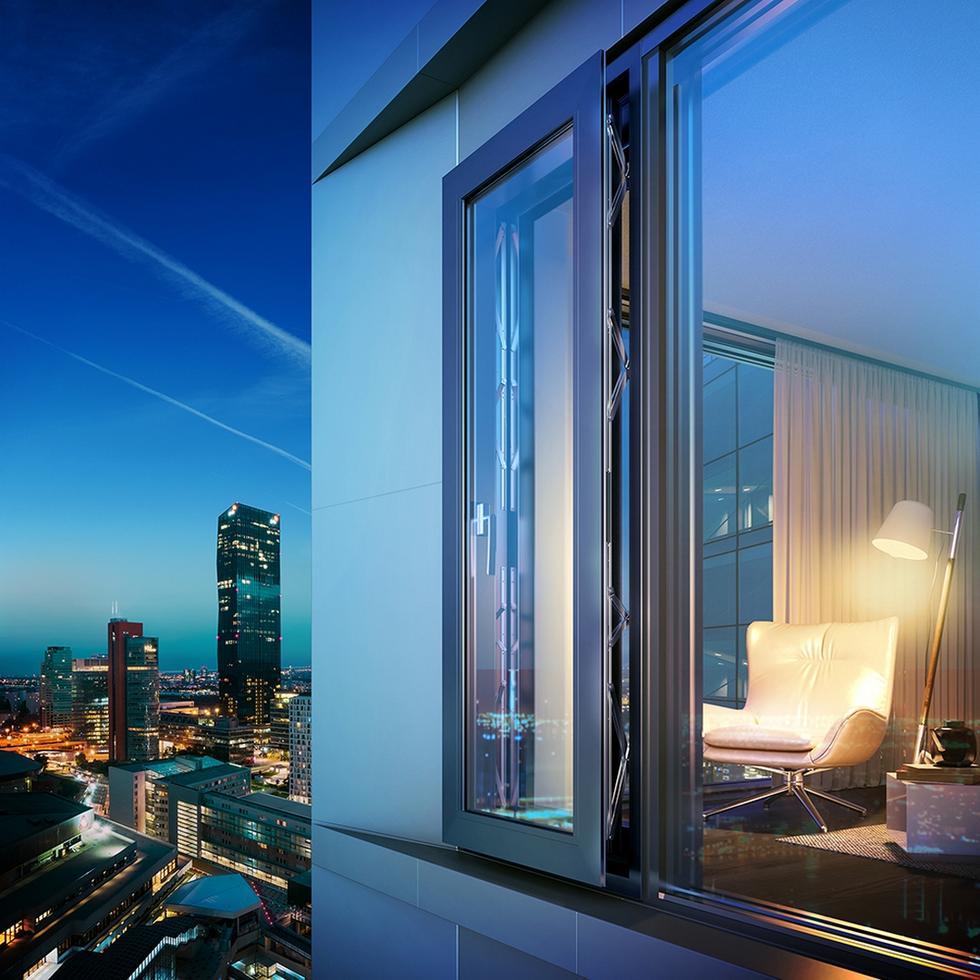 Dźwiękochłonne okno MasterLine 8 SoftTone®
