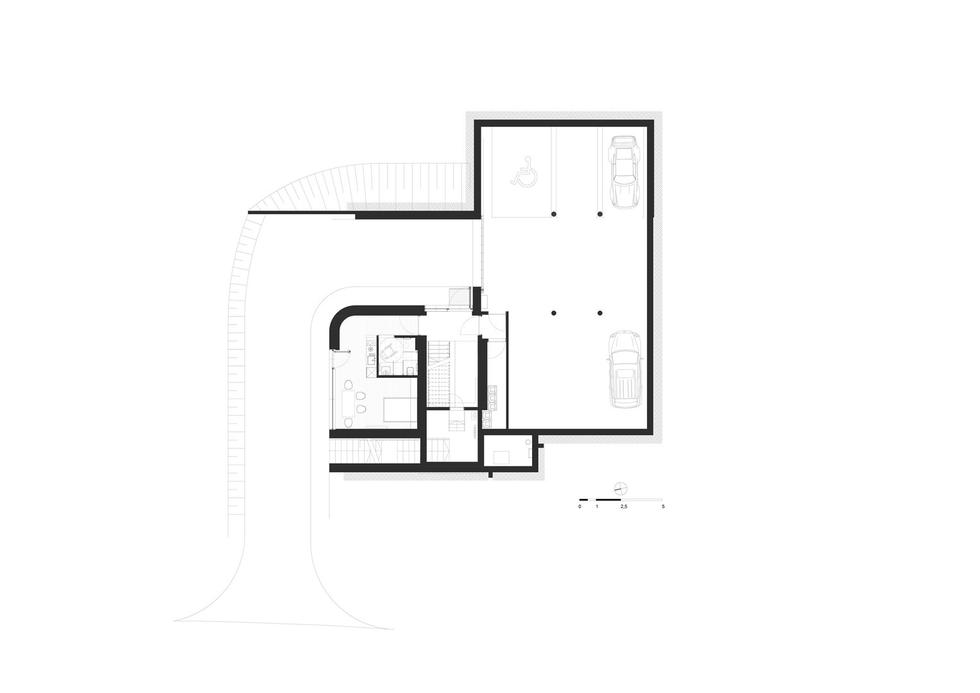 Apartamenty na Wilczej Porębie projektu studio de.materia