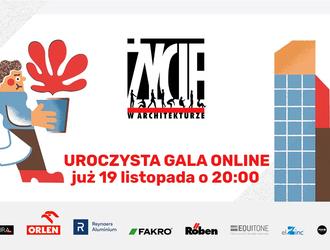 Gala finałowa IX edycji ŻYCIA W ARCHITEKTURZE: oglądaj on-line 19 listopada o godzinie 20.00