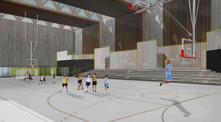 Hala sportowa przy Szkole Podstawowej nr 151 w Krakowie