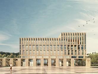 Urząd Skarbowy w Gorzowie Wielkopolskim: konkurs SARP. Wyniki konkursu na projekt nowej siedziby Urzędu Skarbowego w Gorzowie
