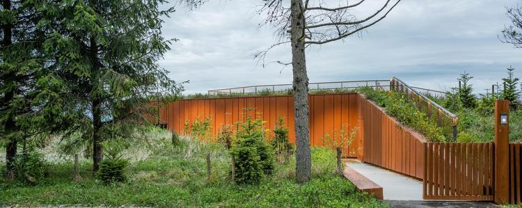 Dom w Bieszczadach projektu medusa group [NOWE ZDJĘCIA]