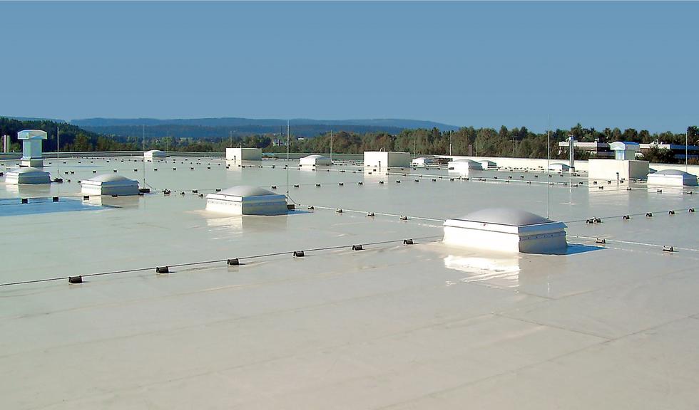 Folie dachowe BauderTHERMOPLAN: nie tylko do dachów zielonych