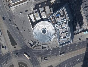 Warszawa z drona: nowy fotoplan stolicy