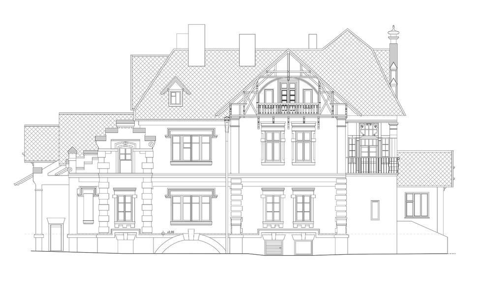 Studentki architektury Politechniki Rzeszowskiej opracowały dokumentację XIX-wiecznej willi Potockich