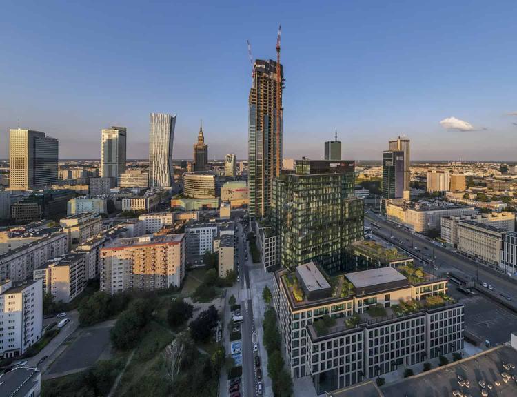 Najwyższy budynek w Polsce: Varso Tower [NOWE ZDJĘCIA]