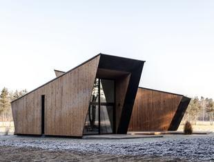 Cichosza: zespół całorocznych domków w Szydłowie projektu Modernstudio