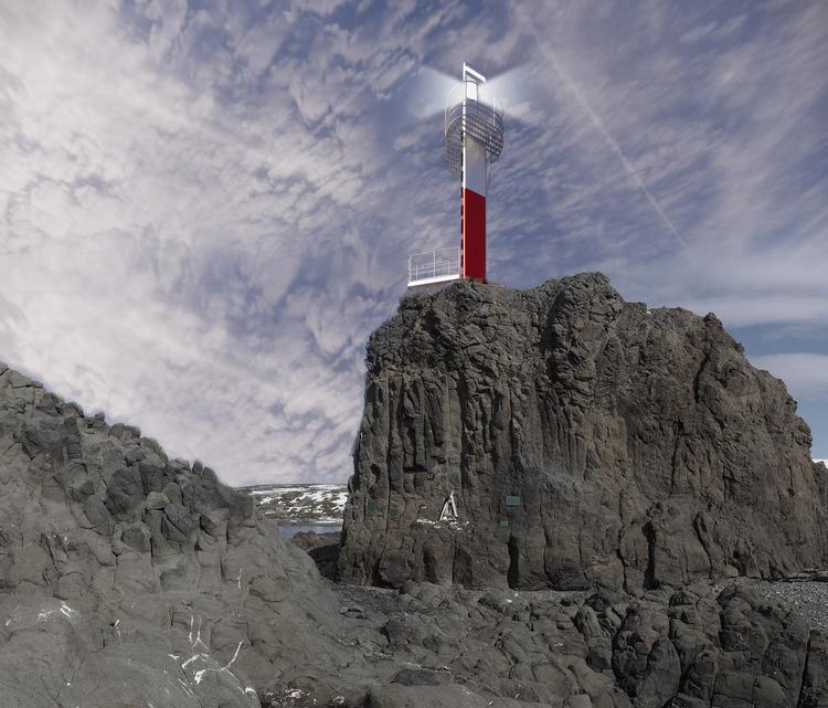 Antarktyczna latarnia morska od Kuryłowicz & Associates