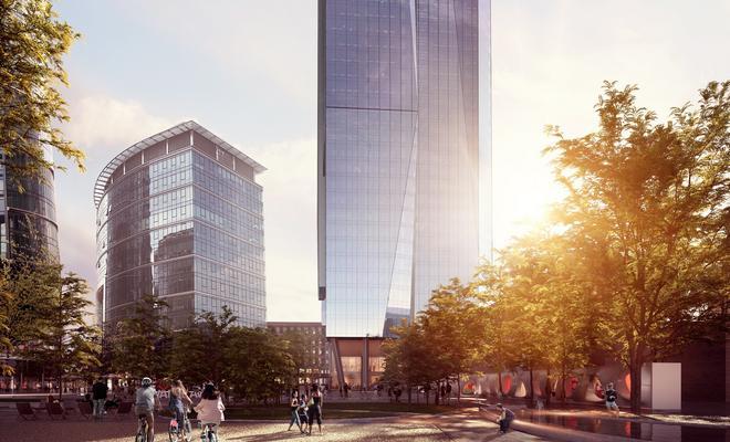 Wieżowiec The Bridge: UNStudio projektuje w Warszawie