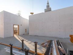 MSN w budowie: najnowsze zdjęcia z realizacji Muzeum Sztuki Nowoczesnej