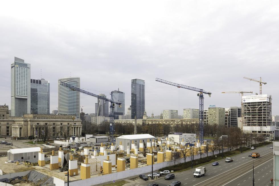 MSN w budowie: najnowsze zdjęcia z realizacji Muzeum Sztuki Nowoczesnej w Warszawie