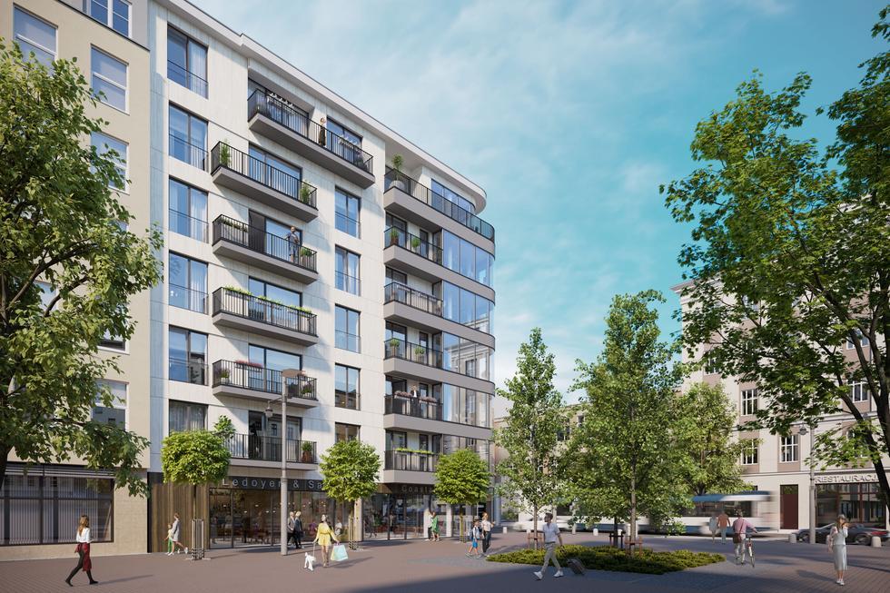 Apartamentowiec Plac Kaszubski w Gdyni