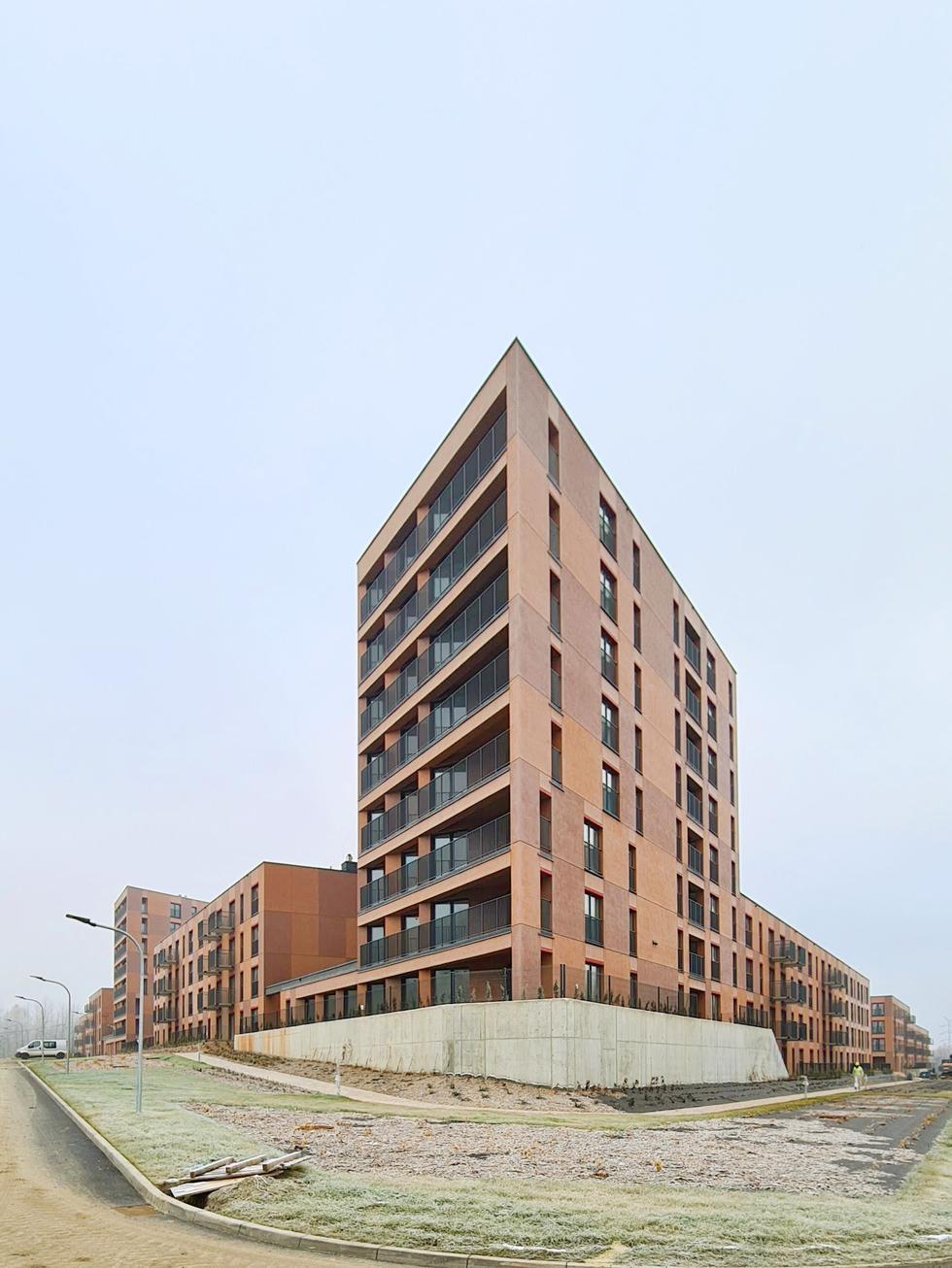 Mieszkanie Plus Katowice: Nowy Nikiszowiec projektu 22Architekci [NOWE ZDJĘCIA]