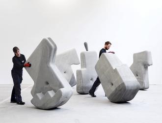 CARBS – Concrete Kinetics: projekt artystyczny Matter Design