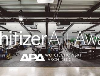 Pracownia APA Wojciechowski wyróżniona w Architizer A+Firm Awards!
