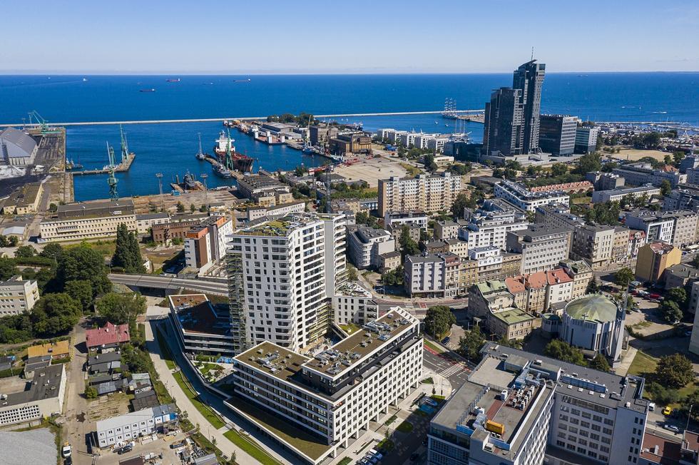 Studio Architektoniczne Kwadrat z nagrodą Czas Gdyni za budynek Portova