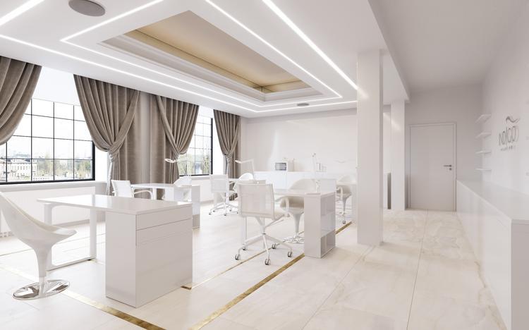 Showroom Indigo Nails projektu Reform Architekt [GALERIA]