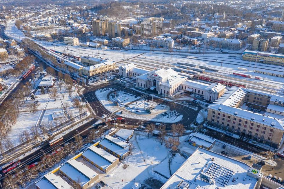 Międzynarodowy konkurs architektoniczny na przebudowę dworca kolejowego w Wilnie