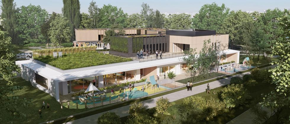 Centrum Aktywności Międzypokoleniowej w Warszawie projektu xystudio