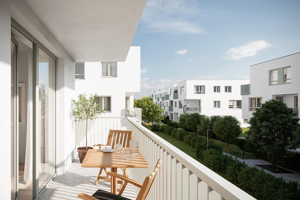 Osiedle U-City Residence w Warszawie projektu Kuryłowicz & Associates