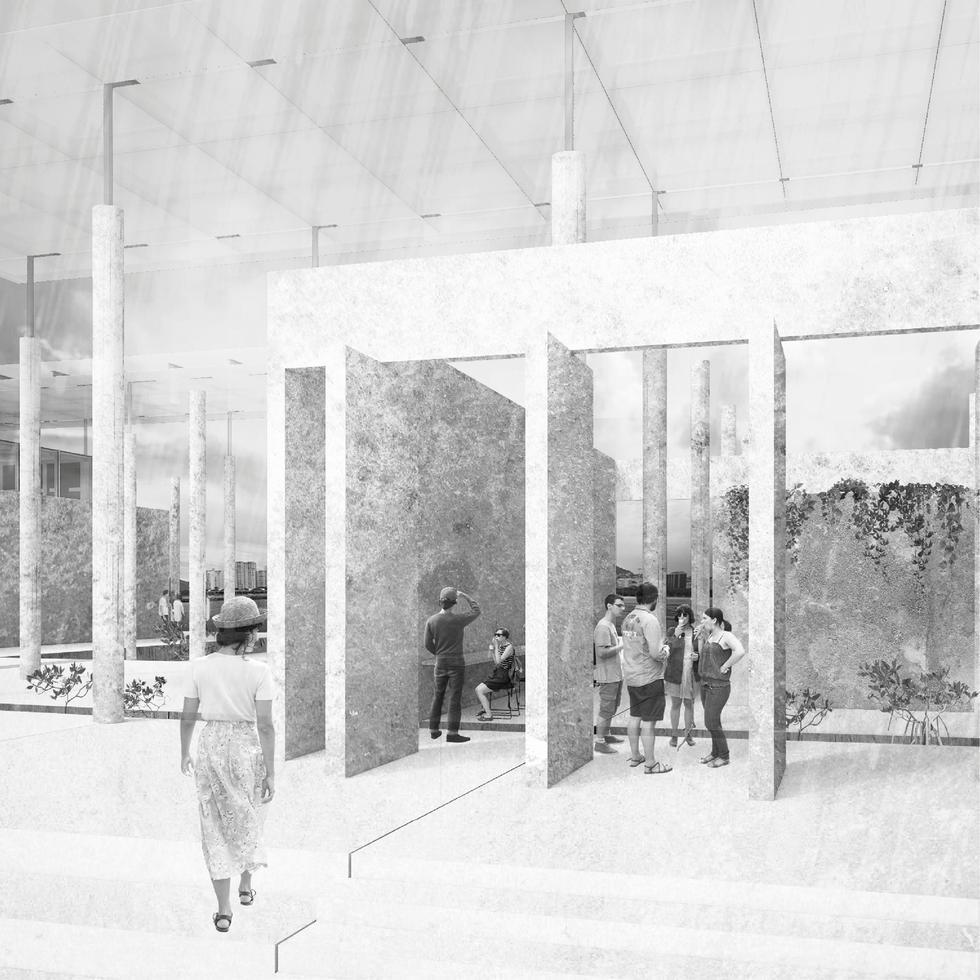 Współczesna agora jako pole architektonicznej debaty: Athenaeum, Rio de Janeiro