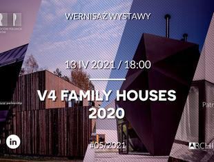 V4 Family Houses 2020, czyli domy Grupy Wyszehradzkiej w nowej formule