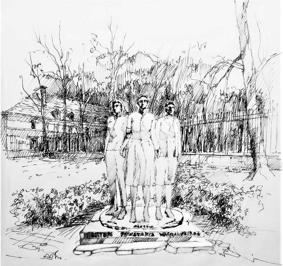 Pomnik Kobietom Powstania Warszawskiego