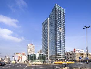 Widok Towers w Warszawie