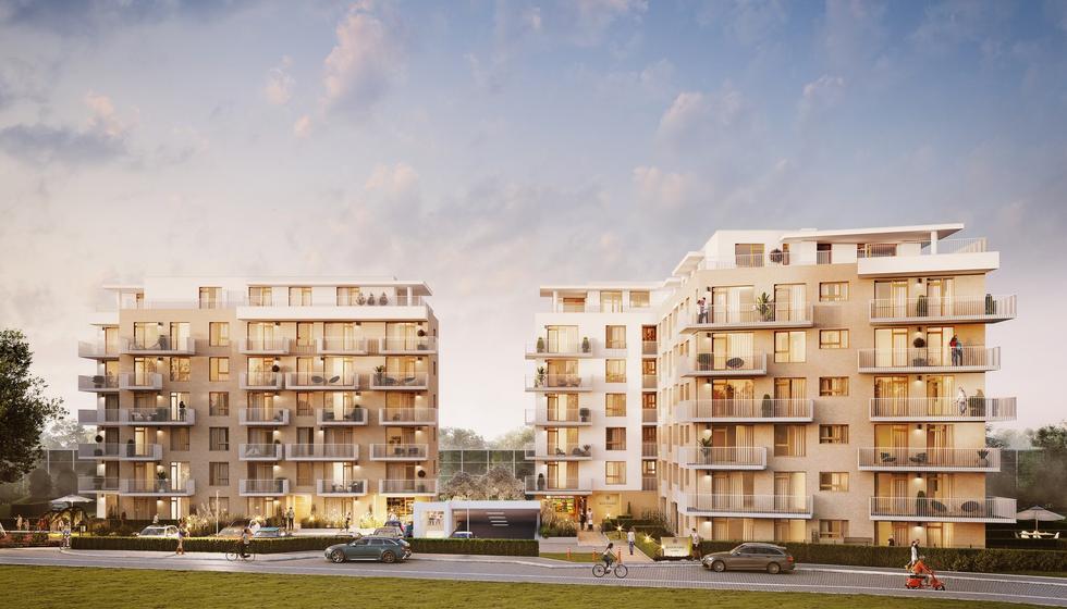 Osiedle Safrano w Krakowie projektu 3D Architekci