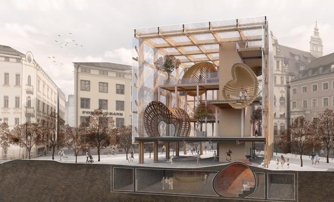 Drewno działa(ń) – Centrum Warsztatowe w Sztokholmie