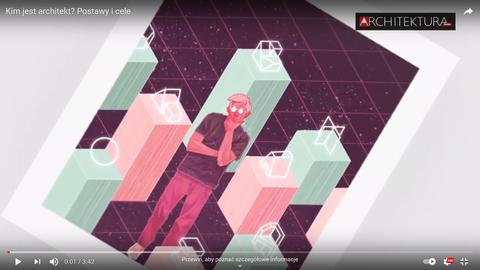 Kim jest architekt? Film promujący pierwszą dyskusję z cyklu Wartości w Architekturze