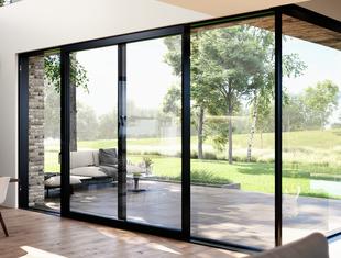 Swoboda projektowania otwartych przestrzeni z Reynaers Aluminium