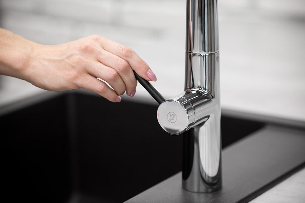 Bateria kuchenna Mungo z funkcją filtrowania wody