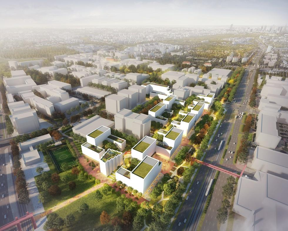 Projekt Służewiec: mieszkaniówka BBGK na warszawskim Mordorze