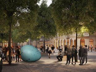 Pisklę na placu Pięciu Rogów: konserwator zgodził się na instalację Joanny Rajkowskiej.