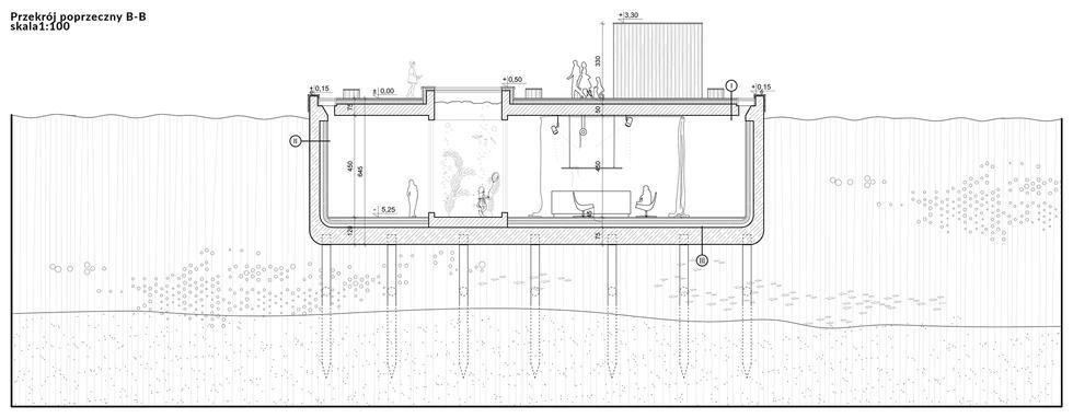 Pole nie-widzenia. Transformacja torpedownii w babich dołach na potrzeby ośrodka edukacyjno-badawczego
