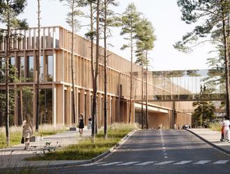 Nowy budynek szpitala klinicznego w Otwocku: wyniki konkursu SARP