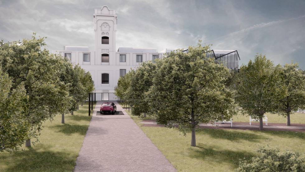 Adaptacja ruin dawnej fabryki Birnbauma w Łodzi