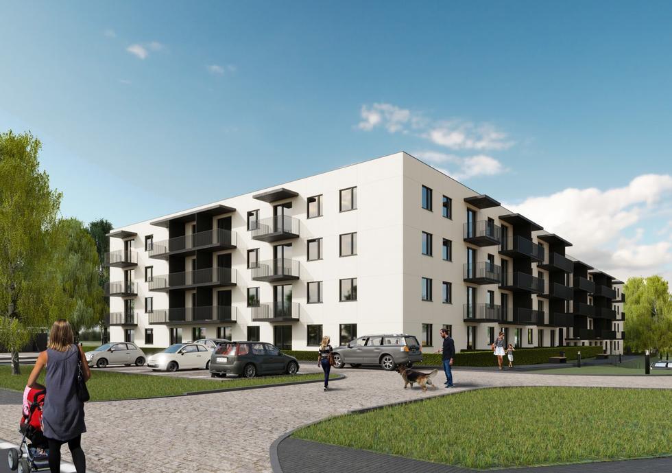 Osiedle Mieszkanie Plus w Nidzicy projektu Czora & Czora