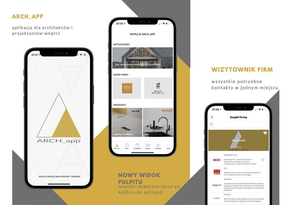 ARCH_app: nowa mobilna aplikacja nie tylko dla architektów