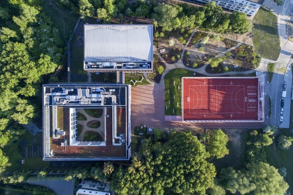 Grand Prix Nagrody Architektonicznej Prezydenta Warszawy 2021 dla podstawówki na Wilanowie