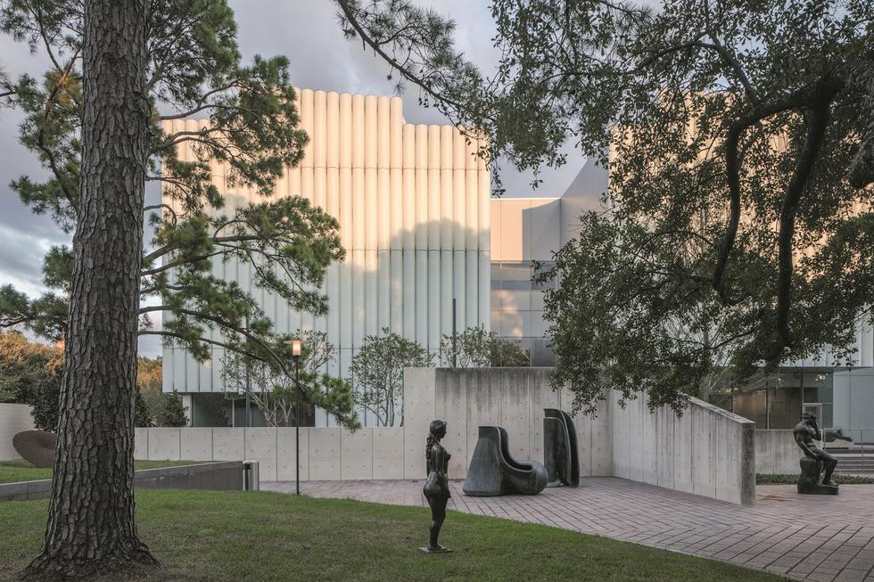Kinder Building przy Museum of Fine Arts w Houston
