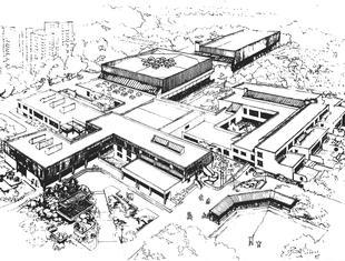 """Z archiwum """"Architektury"""": system szkół dla Ursynowa Północnego"""