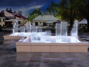 Wyniki konkursu studenckiego na modernizację fontanny w Sandomierzu